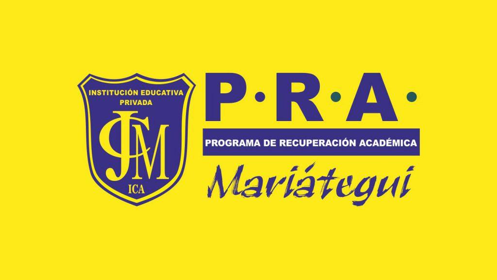 Programa de Recuperación Académica - PRA